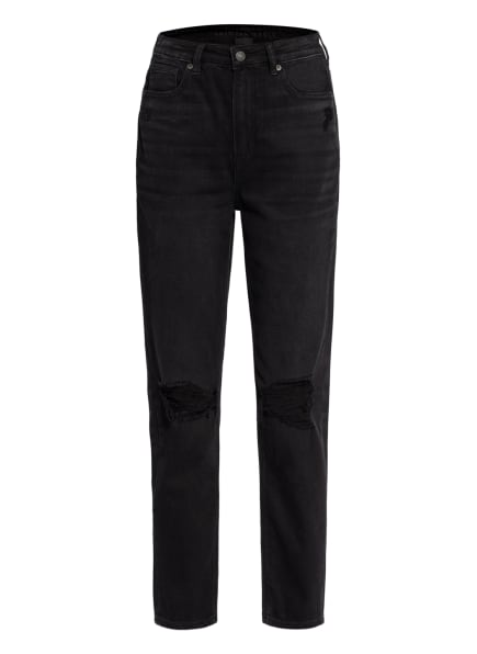 AMERICAN EAGLE Destroyed Jeans, Farbe: 094 FADED BLACK (Bild 1)