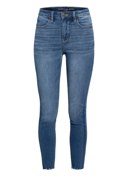 AMERICAN EAGLE Skinny Jeans THE DREAM JEAN, Farbe: 412 MONACO BLUE (Bild 1)