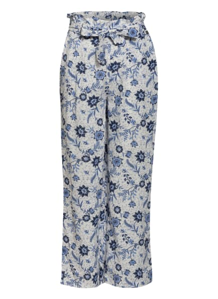 Pepe Jeans Paperbag-Hose MARRY, Farbe: WEISS/ BLAU (Bild 1)