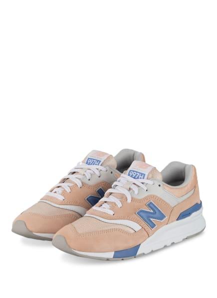 new balance Sneaker 997, Farbe: NUDE/ BLAUGRAU/ WEISS (Bild 1)