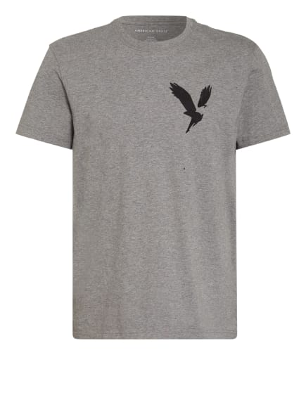AMERICAN EAGLE T-Shirt, Farbe: GRAU/ DUNKELGRAU (Bild 1)