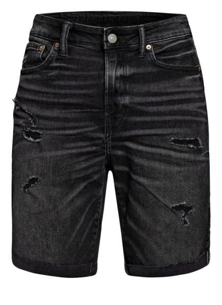 AMERICAN EAGLE Jeans-Shorts , Farbe: 001 BLACK (Bild 1)