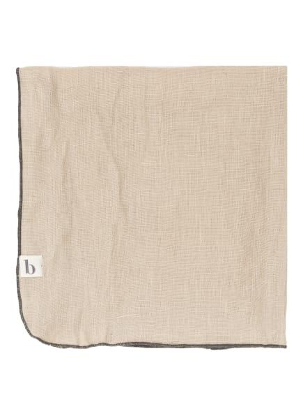 BROSTE COPENHAGEN Leinenserviette GRACE, Farbe: CAMEL (Bild 1)
