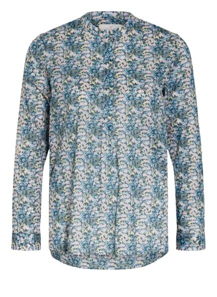 LIEBLINGSSTÜCK Blusenshirt FLORINAL mit Stehkragen, Farbe: HELLBLAU/ ROSA (Bild 1)