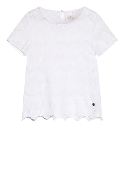 LIEBLINGSSTÜCK Blusenshirt RENEEL aus Lochspitze, Farbe: WEISS (Bild 1)