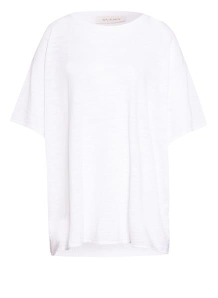 by Aylin Koenig Oversized-Shirt LEO mit Leinen, Farbe: CREME (Bild 1)