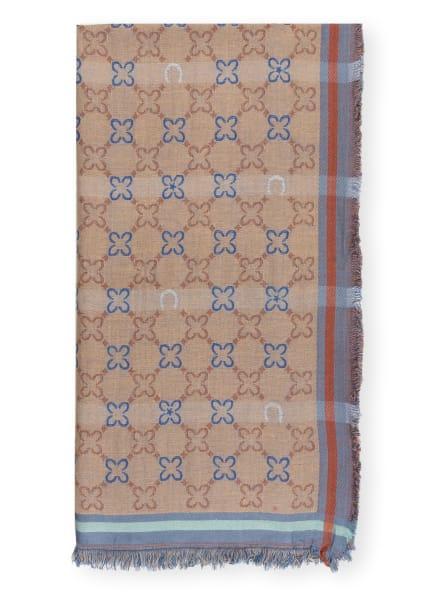 CODELLO Tuch, Farbe: BEIGE/ BLAU/ HELLROSA (Bild 1)