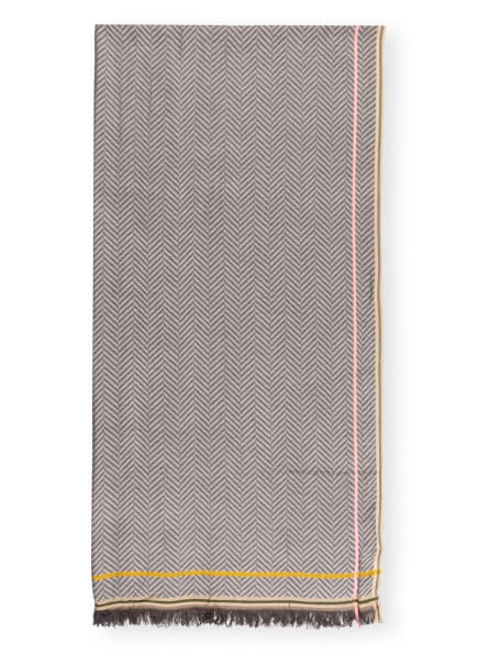 CODELLO Schal, Farbe: HELLGRAU/ DUNKELGRAU/ BRAUN (Bild 1)