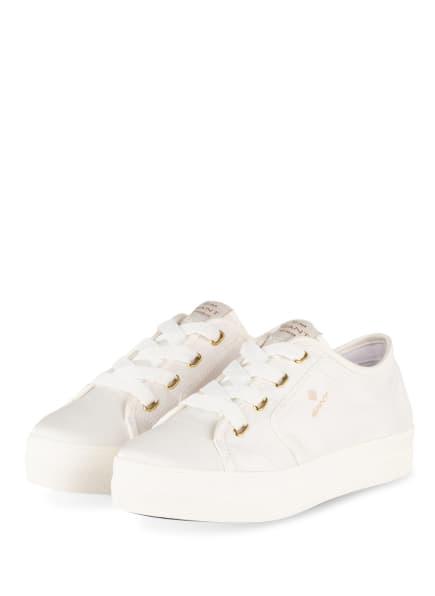 GANT Plateau-Sneaker LEISHA, Farbe: WEISS (Bild 1)