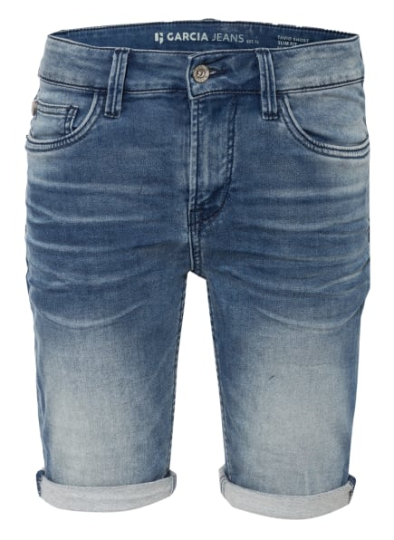 GARCIA Jeans-Shorts, Farbe: BLAU (Bild 1)