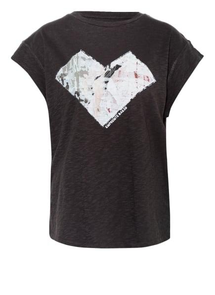 ba&sh T-Shirt VADIM, Farbe: DUNKELGRAU (Bild 1)