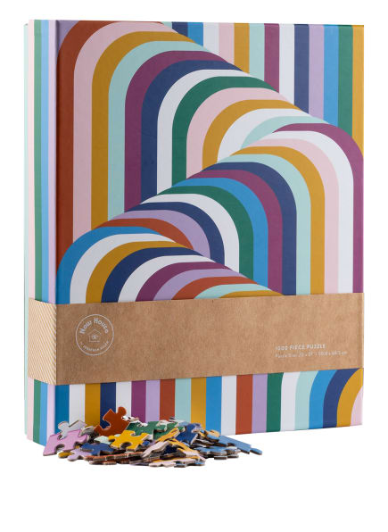 JONATHAN ADLER Puzzle, Farbe: WEISS/ MINT/ FUCHSIA (Bild 1)