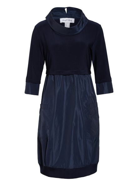 Joseph Ribkoff Kleid im Materialmix, Farbe: DUNKELBLAU (Bild 1)