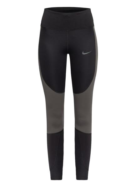 Nike Tights EPIC LUXE RUN DIVISION, Farbe: SCHWARZ/ KHAKI (Bild 1)