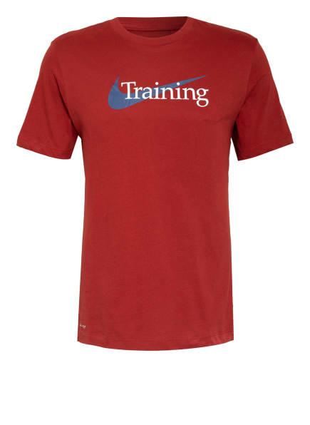 Nike T-Shirt DRI-FIT, Farbe: DUNKELROT (Bild 1)
