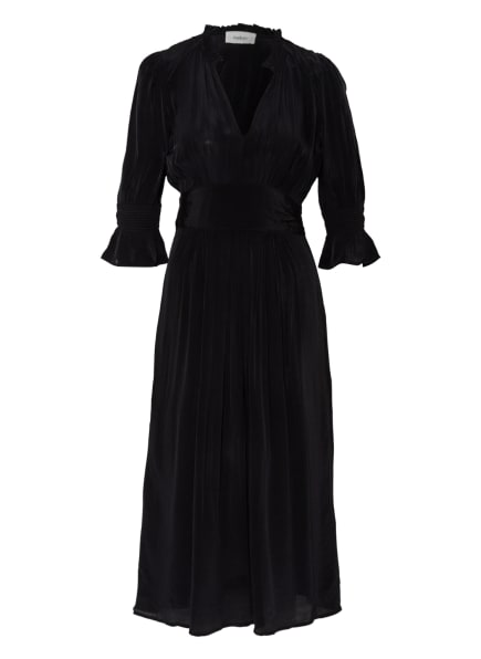 ba&sh Kleid POSITA mit 3/4-Arm , Farbe: SCHWARZ (Bild 1)