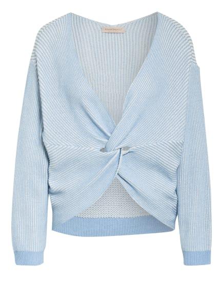 RINASCIMENTO Pullover, Farbe: HELLBLAU/ WEISS (Bild 1)
