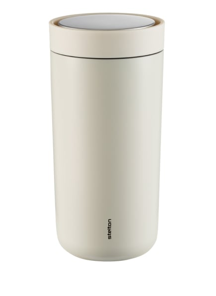 stelton Thermobecher TO GO CLICK, Farbe: WEISS/ CREME (Bild 1)