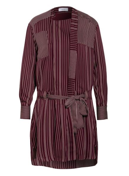 REISS Kleid ALBI, Farbe: DUNKELROT/ CREME (Bild 1)