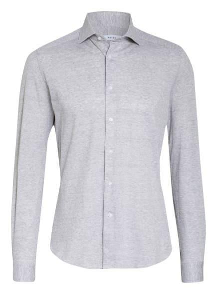 REISS Piqué-Hemd GALE Slim Fit, Farbe: HELLGRAU/ WEISS/ GRAU (Bild 1)