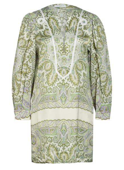 SANDRO Kleid, Farbe: ECRU/ HELLGRÜN/ HELLLILA (Bild 1)