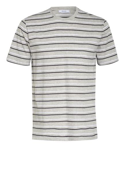 REISS T-Shirt CHESHAM, Farbe: HELLGRAU/ SCHWARZ/ WEISS (Bild 1)