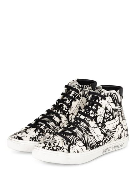 SAINT LAURENT Hightop-Sneaker MALIBU, Farbe: SCHWARZ/ WEISS (Bild 1)