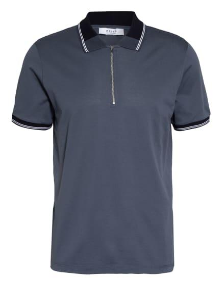 REISS Piqué-Poloshirt CARTER, Farbe: BLAU (Bild 1)