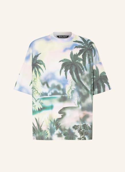 Palm Angels Oversized-Shirt, Farbe: OLIV/ GELB/ HELLBLAU (Bild 1)