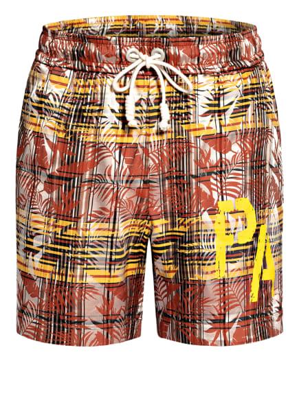 Palm Angels Shorts , Farbe: BRAUN/ GELB/ SCHWARZ (Bild 1)