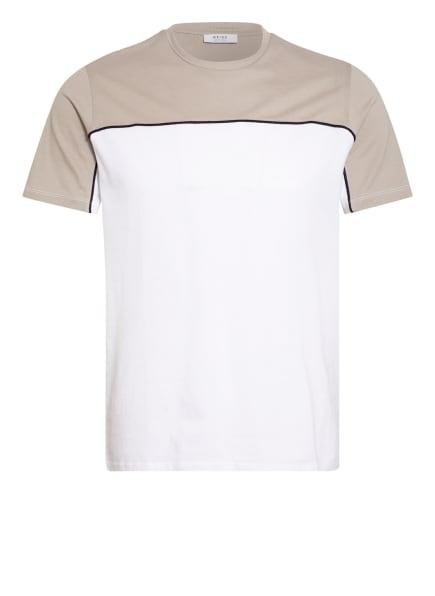 REISS T-Shirt MONTE , Farbe: WEISS/ BEIGE (Bild 1)