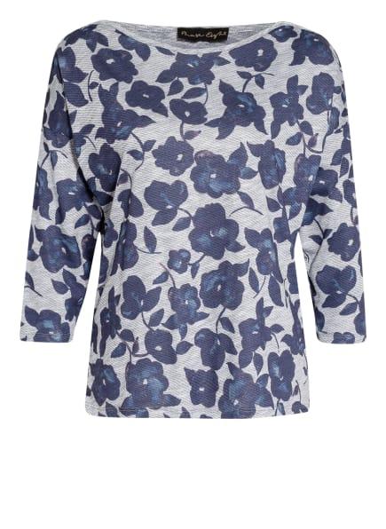 Phase Eight Shirt DIXIE mit 3/4-Arm, Farbe: GRAU/ DUNKELBLAU (Bild 1)