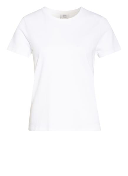 CLOSED T-Shirt mit Leinen, Farbe: WEISS (Bild 1)