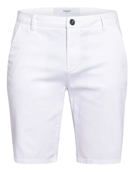 GOLDGARN DENIM Chino-Shorts HAFEN, Farbe: WEISS (Bild 1)