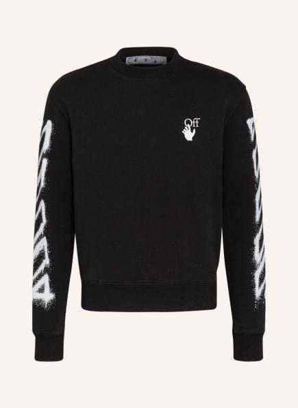 Off-White Sweatshirt, Farbe: SCHWARZ/ WEISS (Bild 1)