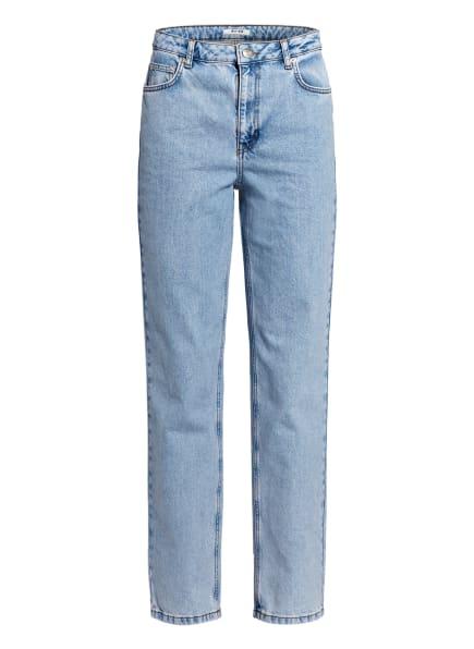 NA-KD Straight Jeans, Farbe: LIGHT BLUE (Bild 1)