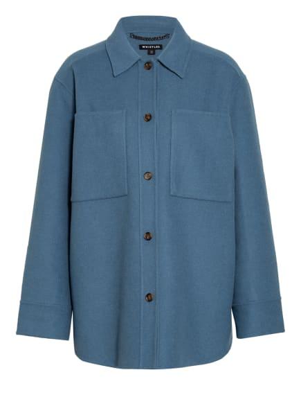 WHISTLES Overshirt, Farbe: BLAU (Bild 1)