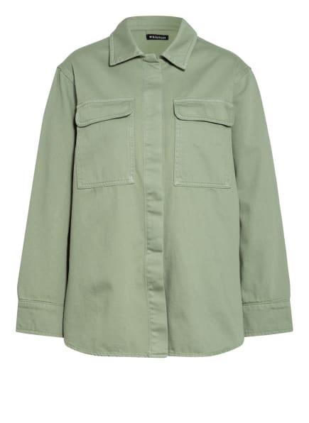 WHISTLES Overshirt FRANKIE, Farbe: GRÜN (Bild 1)