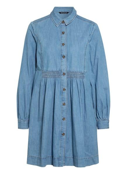 WHISTLES Hemdblusenkleid in Jeansoptik, Farbe: HELLBLAU (Bild 1)