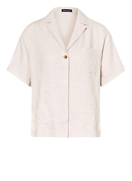 WHISTLES Blusenshirt KARLA aus Leinen, Farbe: HELLGRAU (Bild 1)