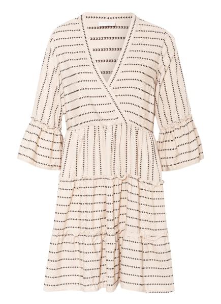 VILA Kleid, Farbe: BEIGE/ SCHWARZ (Bild 1)