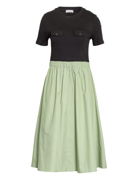 CLAUDIE PIERLOT Kleid TRACK, Farbe: OLIV/ SCHWARZ (Bild 1)