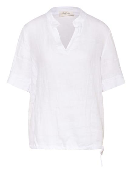 CARTOON Blusenshirt aus Leinen , Farbe: WEISS (Bild 1)