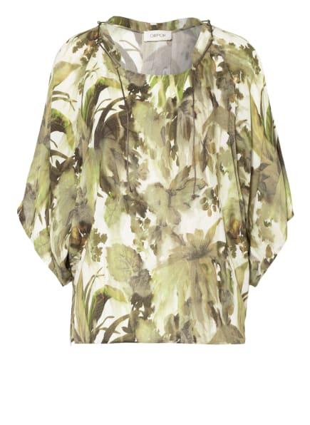 CARTOON Blusenshirt , Farbe: CREME/ KHAKI (Bild 1)