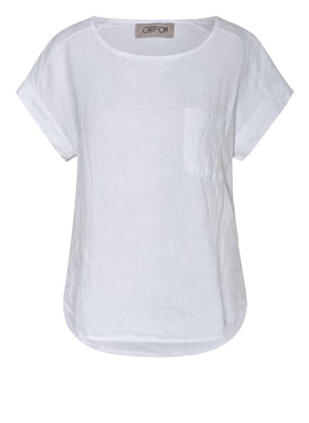CARTOON Blusenshirt aus Leinen, Farbe: WEISS (Bild 1)