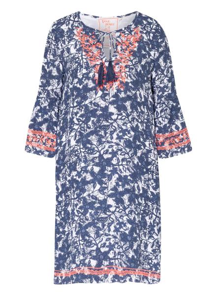LIEBLINGSSTÜCK Kleid RAHELL mit 3/4-Arm , Farbe: WEISS/ BLAU (Bild 1)