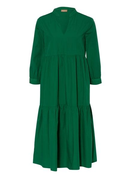 espadrij l'originale Strandkleid BERNADETT mit 3/4-Arm , Farbe: GRÜN (Bild 1)