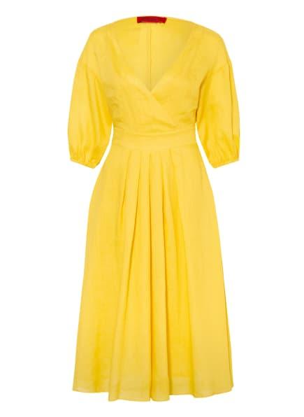 MAX & Co. Kleid LONDRA mit 3/4-Arm, Farbe: GELB (Bild 1)