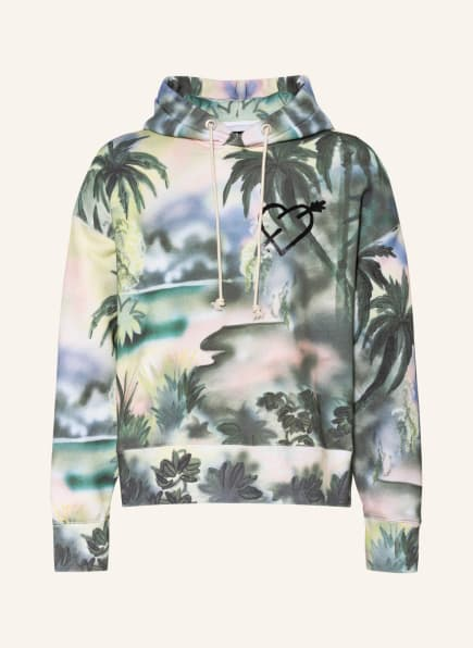 Palm Angels Hoodie , Farbe: GRÜN/ BLAU/ HELLROSA (Bild 1)