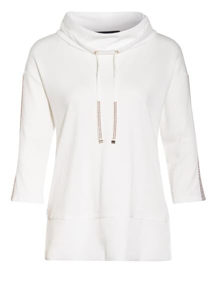 Betty Barclay Sweatshirt mit 3/4-Arm, Farbe: WEISS (Bild 1)